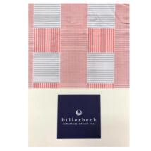 Billerbeck BIANKA ágyneműhuzat- geometriai mintás piros