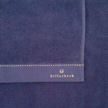 Tintahal elkenődött szemfestéke kék törölköző